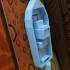 sea boat floating image