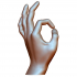 okay hand sign ok male gesture image