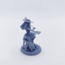 Picture of print of Silv the Elf Bard