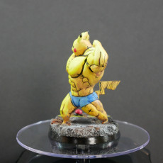 Picture of print of Ultra swole Pikachu