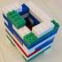 Montini building bricks Two Pip Set (Lego Compatible) image