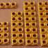 Montini building bricks Female Plate Set (Lego Compatible) image