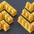 Montini building bricks Pip Strip Set (Lego Compatible) image