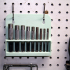 Harbor Freight Hollow Punch Set Pegboard Rack image