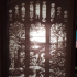 Montini Stained Glass Window Lithophane (Lego Compatible) image