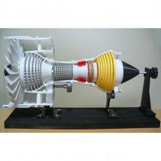 Jet Engine; 2-Spool, Current, Big