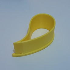 Picture of print of paisley cookie cutter