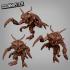 Giant Mantis Bug Swarm image