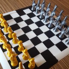 Schachbrett, Chess Board