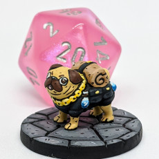 Picture of print of Pack Pug