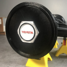 Hubcap Wheel extension of the Toyota 22RE Engine