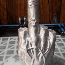 Picture of print of Middle Finger Этот принт был загружен Matthew Stokstad