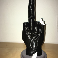 Picture of print of Middle Finger Этот принт был загружен Damir
