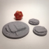 Rocky Bases - 25mm and 50mm Bases image