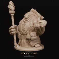 Tortle Sorcerer Variant Miniature