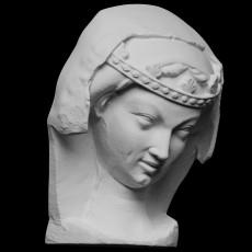 Head of an unwise Virgin