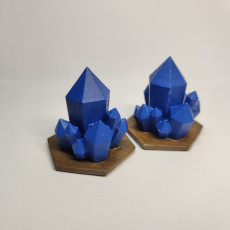Picture of print of Crystals for Gloomhaven