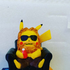 Picture of print of Pikachu X Thor (Pokemon/Thor)
