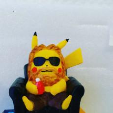 Picture of print of Pikachu X Thor (Pokemon/Thor)