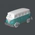 Volgswagen Combi Keyring image