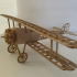 (landing gear) Fascicle 3 of Niueport 28 / ww1 fighter aircraft collection image