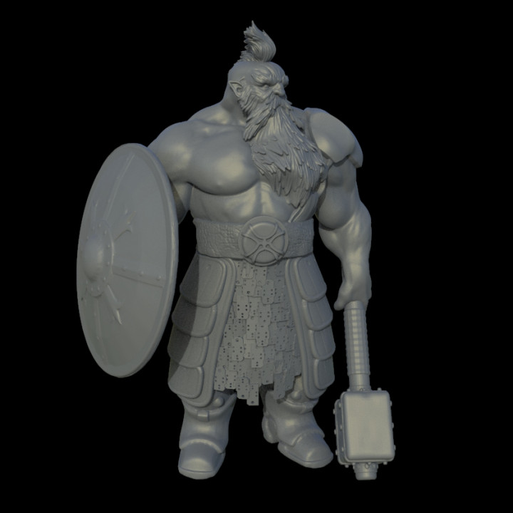 FREE sample Dwarf warrior