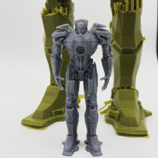 Picture of print of Gipsy Danger (Jaeger)