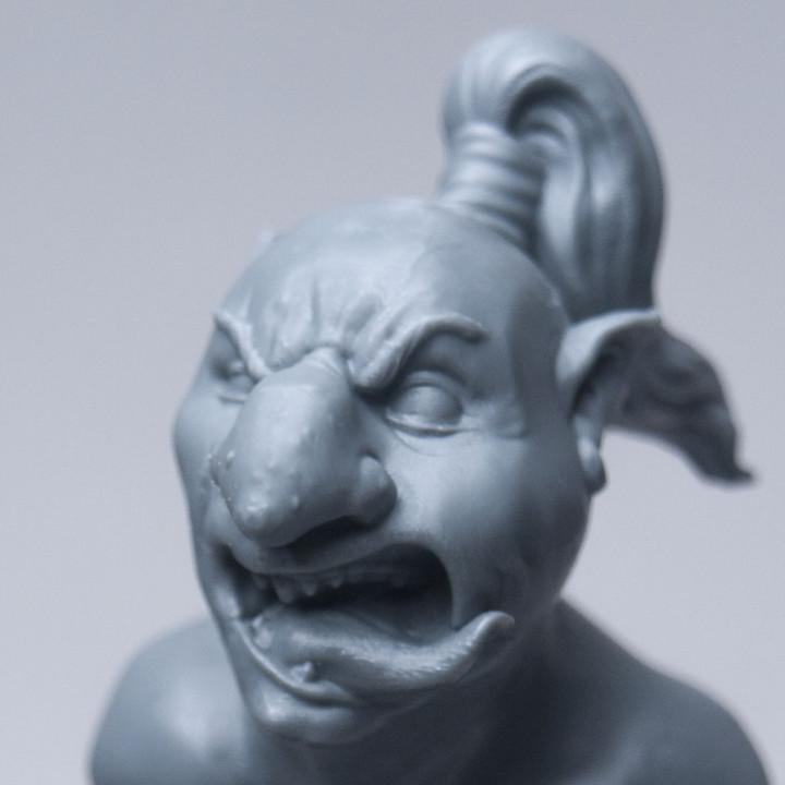 Goblin Explorer Bust