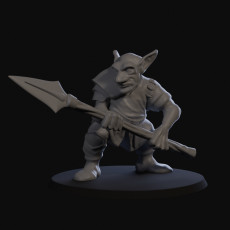Goblin Skirmisher with Spear 01