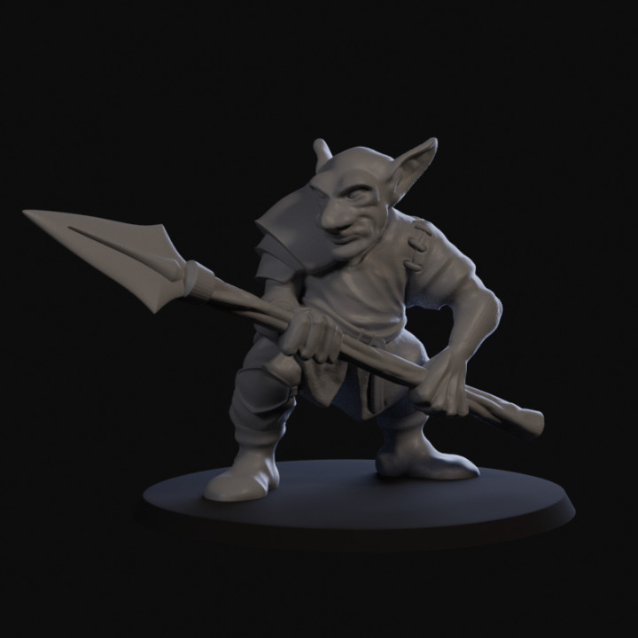 Goblin Skirmisher with Spear 01