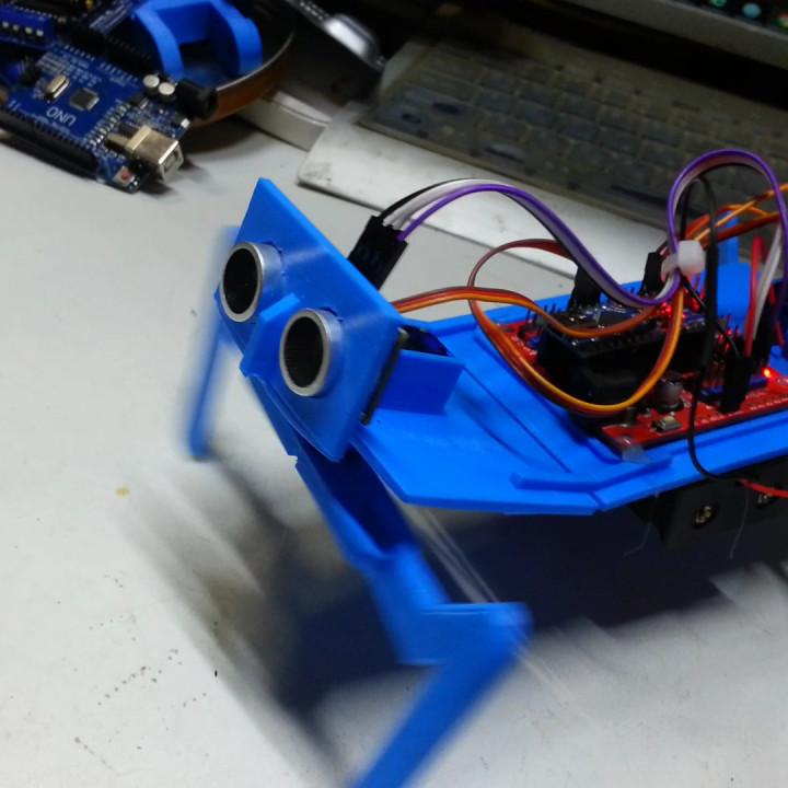 How to make a mantis robot