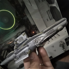 Picture of print of Space Shark