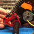 Tamiya Rising Fighter Rear Shock Mount and Transmission Brace image