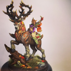 Picture of print of Endelshar on the Forest King