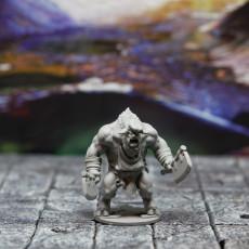 Picture of print of Butcher Minotaur Hero