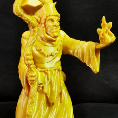 Picture of print of Goblin Shaman miniature