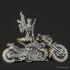 Cyber Metal Biker Chick image