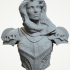Female knight bust image