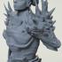 female dragon knight bust image