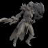 epic female warrior image