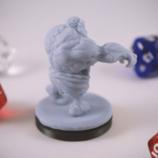 Picture of print of Undead Dwarf Miniature