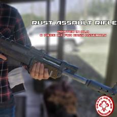 Rust Game Ak Assault Rifle Replica