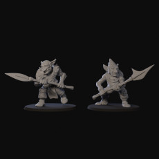 Goblin pair with spears