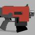 Warhammer 40k Bolter Pistol Replica Fan Art image