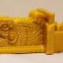 Montini Aztec Dragon Head (Lego Compatible) image
