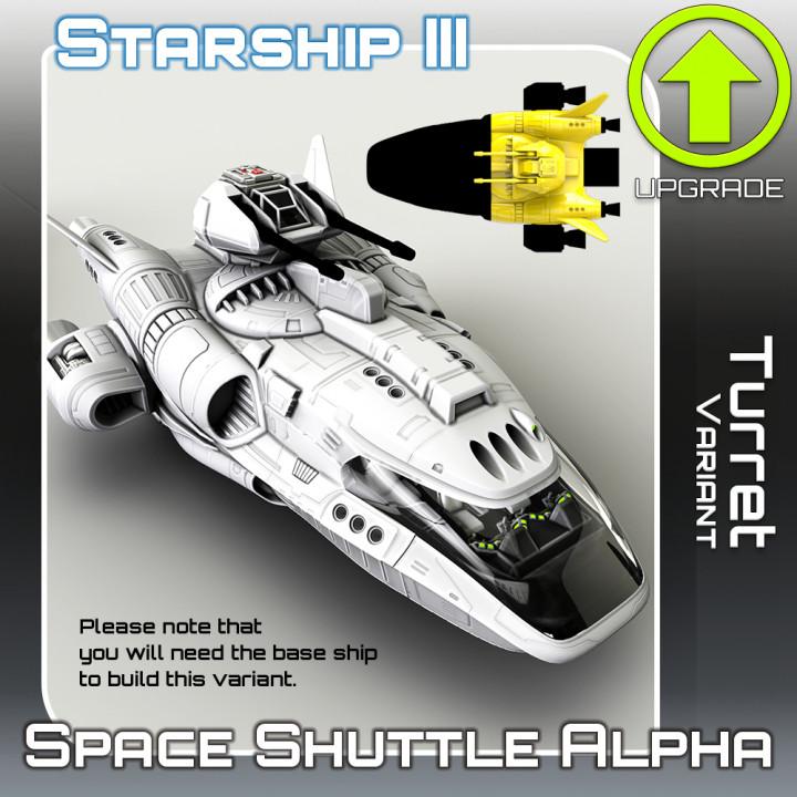 Space Shuttle Alpha Turret Variant
