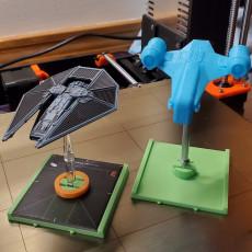 Star Wars X-Wing 2.0 Medium Base