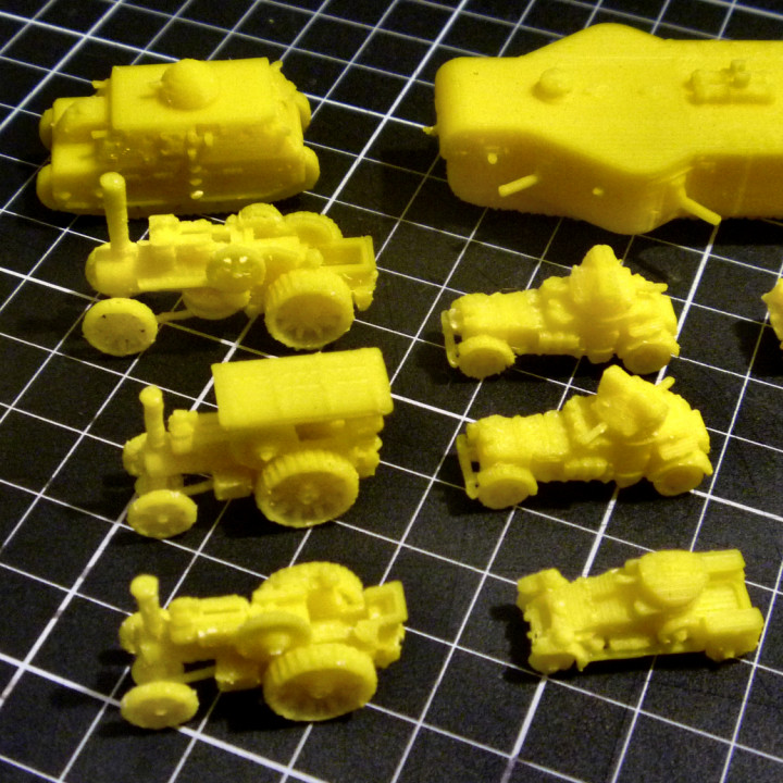 1:200 WWI Tanks and Vehicles Pack 2