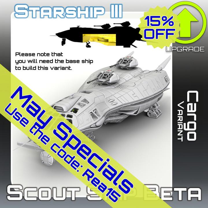 Scout Ship Beta Cargo Variant Upgrade