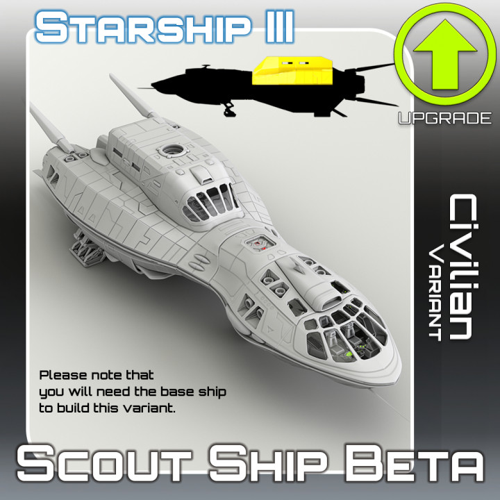 Scout Ship Beta Civilian Variant